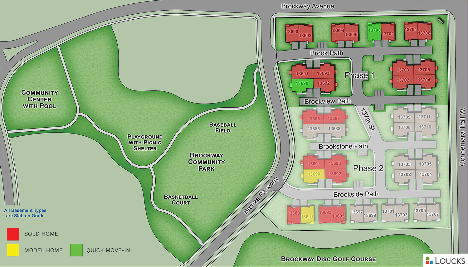 Harmony Villas map