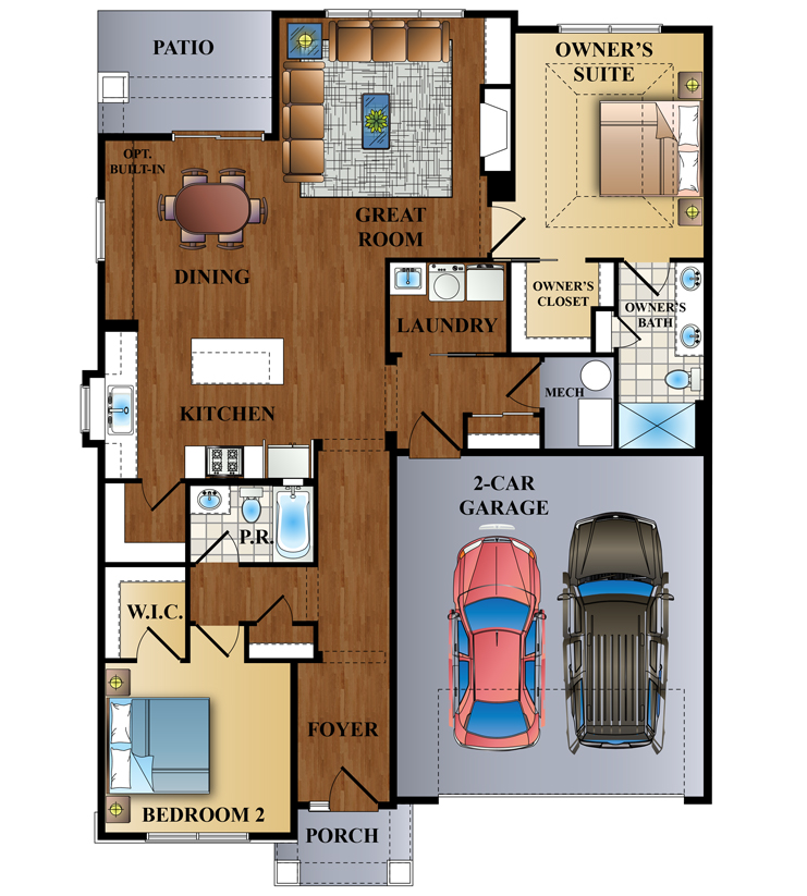 The Bellwood Floor Plan